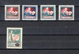 Letonia   1920  .-   Y&T  Nº   55/58 - 59    ** - Letonia
