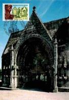YT 3128 - Moutier D'Ahun - Creuse - Carte Maximum 1997 - Cartas Máxima