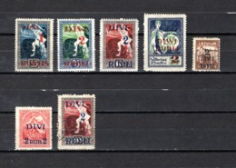 Letonia   1920-21  .-   Y&T  Nº   62/67 - Letonia