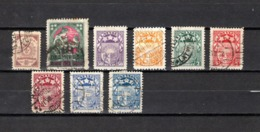 Letonia   1920-22  .-   Y&T  Nº   68-70-81/83-85/86-88/89 - Letonia