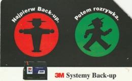 POLONIA. 3M Systems Back-up. 50U. 107. (183) - Polonia