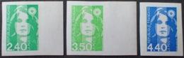 DF40266/616 - 1993 - TYPE MARIANNE DU BICENTENAIRE - SERIE COMPLETE  - N°2820a à 2822a NEUFS** ND - Cote : 60,00 € - Francia