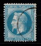 France Napoléon III Lauré - YT N°29A - Oblitéré - 1863-1870 Napoleon III With Laurels