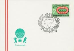 ÖSTERREICH 1975, SST MALER / GRAFIKER: 1150 WIEN Hundertwasser - Moderni