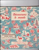 DECOUVRONS LE MONDE Spécimen Broché Cours élémentaire  Et Classes De 10 Et 9 ème  Chabot Et Mory - Encyclopédies