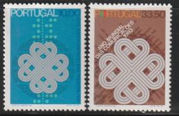 PORTUGAL - N°1569/70 ** (1983) Communications - 1910-... Republic
