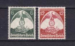Deutsches Reich - 1935 - Michel Nr. 586/587 - Postfrisch - 20 Euro - Alemania