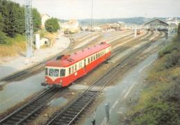 PERIGUEUX - Train Autorail X 2425 Manoeuvre En Gare - Liaison Avec Limoges - Photo R. Gibiat - Rail Ussellois - Périgueux
