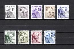 Letonia   1992  .-   Y&T  Nº   290/298 - Letonia