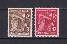 Deutsches Reich - 1935 - Michel Nr. 598/599 - Postfrisch - 16 Euro - Deutschland