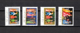 Letonia   1992  .-   Y&T  Nº   308/311 - Letonia