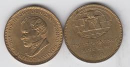 1960 Trustee Savings Bank TSB Customer Thrift Medal - Altri