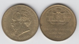 1961 Trustee Savings Bank TSB Customer Thrift Medal - Regno Unito