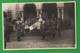 Forze Armate Cerimonia Milano Benedizione Tricolore Militari Bersaglieri Milizia Regio Esercito 1931 - Guerra, Militari