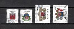 Letonia   1994  .-   Y&T  Nº   352/355 - Letonia