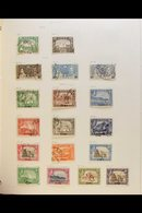 BRIT. COMM HUGE EARLY TO MODERN 10 VOLUME COLLECTION - Mostly Postage Stamps, But Also Revenues, Stationery Cut-outs And - Timbres