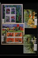FUNGI ON STAMPS - SOUTH AMERICA / CARIBBEAN. An Amazing Collection Of Mushrooms / Fungi On The Never Hinged Mint Sets, M - Timbres
