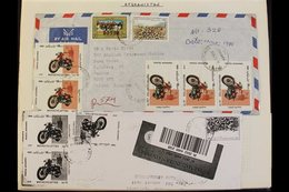 MOTORCYCLING TOPICAL - 16 VOLUME COLLECTION Of Stamps & Covers 1905-2015, Arranged A-Z By Country With Every Item Contai - Timbres