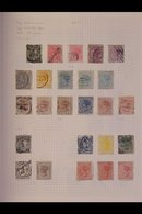 BRITISH COMMONWEALTH CARTON With Better Stamps Or Sets, In Seven Albums And On A Thick Pile Of Pages, Mint & Used, We Se - Timbres