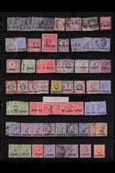 BRITISH EUROPE 1880's-1980's ATTRACTIVE ACCUMULATION With Light Duplication On Stock Pages, Mint (many Later Issues Neve - Timbres