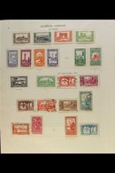 FRENCH COLONIES 1871-1936 Old Time Mint And Used Collection On Printed Album Pages, Starts With General Issues Incl 1871 - Timbres