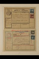 WWI AUSTRIAN OCCUPATION OF ITALY Attractive Collection Of Stamps And Parcel Cards From This Often Overlooked Theatre Of  - Timbres