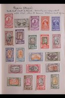 """1841-1950's INTERESTING WORLD COLLECTION A Delightful, Old Time Mint & Used Collection Presented In A """"Priority"""" Spring  - Timbres"""