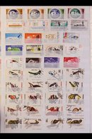 WORLD RANGES 20th Century Mint (many Modern Issues Are Never Hinged) And Used Stamps With Only Light Duplication Sorted  - Timbres