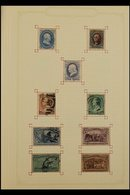 WORLD COLLECTION IN FIVE VOLUMES 1840's - 1970's ALL DIFFERENT Mint & Used Foreign Countries Collection In Five Albums.  - Timbres