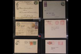 ADVERTISING ENVELOPES & POSTCARDS HOUSEHOLD ITEMS & CLOTHING Accumulation Of Advert Covers & Meter Mail Covers Covers Ea - Timbres