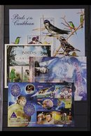 BRITISH COMMONWEALTH 2005-2009 SUPERB NEVER HINGED MINT All Different Complete Sets And Mini-sheets On Stock Pages, Incl - Timbres