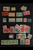 BRITISH COMMONWEALTH ODDMENTS A 19th Century To 1960's Untidy Assembly Of Left Overs From An Ex-dealers Stock Pages, Inc - Timbres