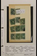 LATIN AMERICA An Ex Dealers Range Of Mint, Nhm & Used Stamps & Miniature Sheets On Retailing Pages In A Small Ring Binde - Timbres