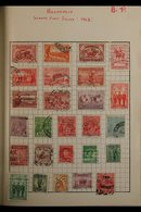 """WORLD COLLECTION IN A """"WANDERER"""" ALBUM A Delightful Old Time, Mint & Used, ALL DIFFERENT Collection Presented In A Well  - Timbres"""