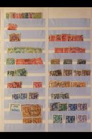 THE RHODESIAS MINT & USED ACCUMULATION In Stock Book, Note Northern Rhodesia KGV Defins Used To 5s Plus Ranges Of KGVI & - Timbres