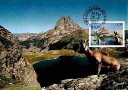 YT 3056 - Parc Des Pyrénées - Carte Maximum 1997 - Cartas Máxima