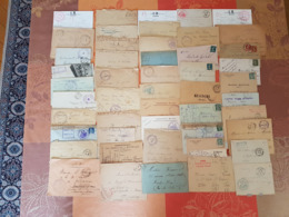 France - Lot De Lettres Et Cartes - Guerre 14-18 - PLUS DE 600 PIECES - DEPART 1 EURO - Poststempel (Briefe)