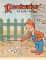ROUDOUDOU LES PLUS BELLES IMAGES N° 209 FEVRIER 1964 AVEC RARE SUPPLEMENT UN JEUDI ROUDOUDOU UN JEUDI RIQUIQUI COCOTTES - Livres, BD, Revues