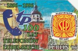 POLONIA. 100 Years Of Phones In Lublin. 25U. 177. (189) - Polonia