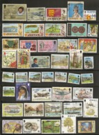 Jersey Collection With Many Topical Stamps - Jersey
