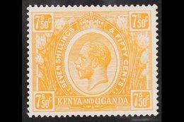 1922-27 7s50 Orange- Yellow, SG 93, Very Fine Mint. For More Images, Please Visit Http://www.sandafayre.com/itemdetails. - Vide