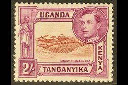 1938-54 2s Lake-brown & Brown-purple Perf 13¼, SG 146, Fine Mint. For More Images, Please Visit Http://www.sandafayre.co - Publishers