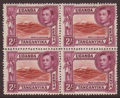 1941 2s Lake Brown And Brown Purple, Perf 14 SG 146a, Fine Mint Block Of Four.  For More Images, Please Visit Http://www - Publishers