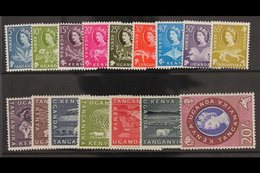 1960-62 Complete Definitive Set, SG183/198, Fine Never Hinged Mint. (16 Stamps) For More Images, Please Visit Http://www - Publishers