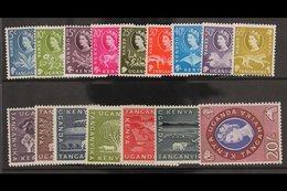 1960-62 Complete Definitive Set, SG183/198, Fine Never Hinged Mint. (16 Stamps) For More Images, Please Visit Http://www - Vide