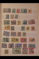INTERESTING MINT & USED ACCUMULATION IN TWO STOCKBOOKS Note K.U.T. 1903 To Early 1960's - Note KEVII Ranges To 8a & 50c  - Publishers