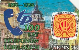 POLONIA. 100 Years Of Phones In Lublin. 50U. 178. (190) - Polonia