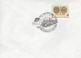 Österreich 1634 Auf Brief Sonderst. Briefmarkenwerbeschasu Eisenerz 1980 - 1945-.... 2a Repubblica