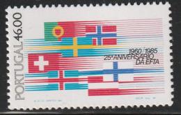PORTUGAL - N°1633 ** (1985) E.F.T.A. - 1910-... Republic