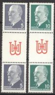 DDR Zussammendrucke SZ12/13 ** Postfrisch - Zusammendrucke